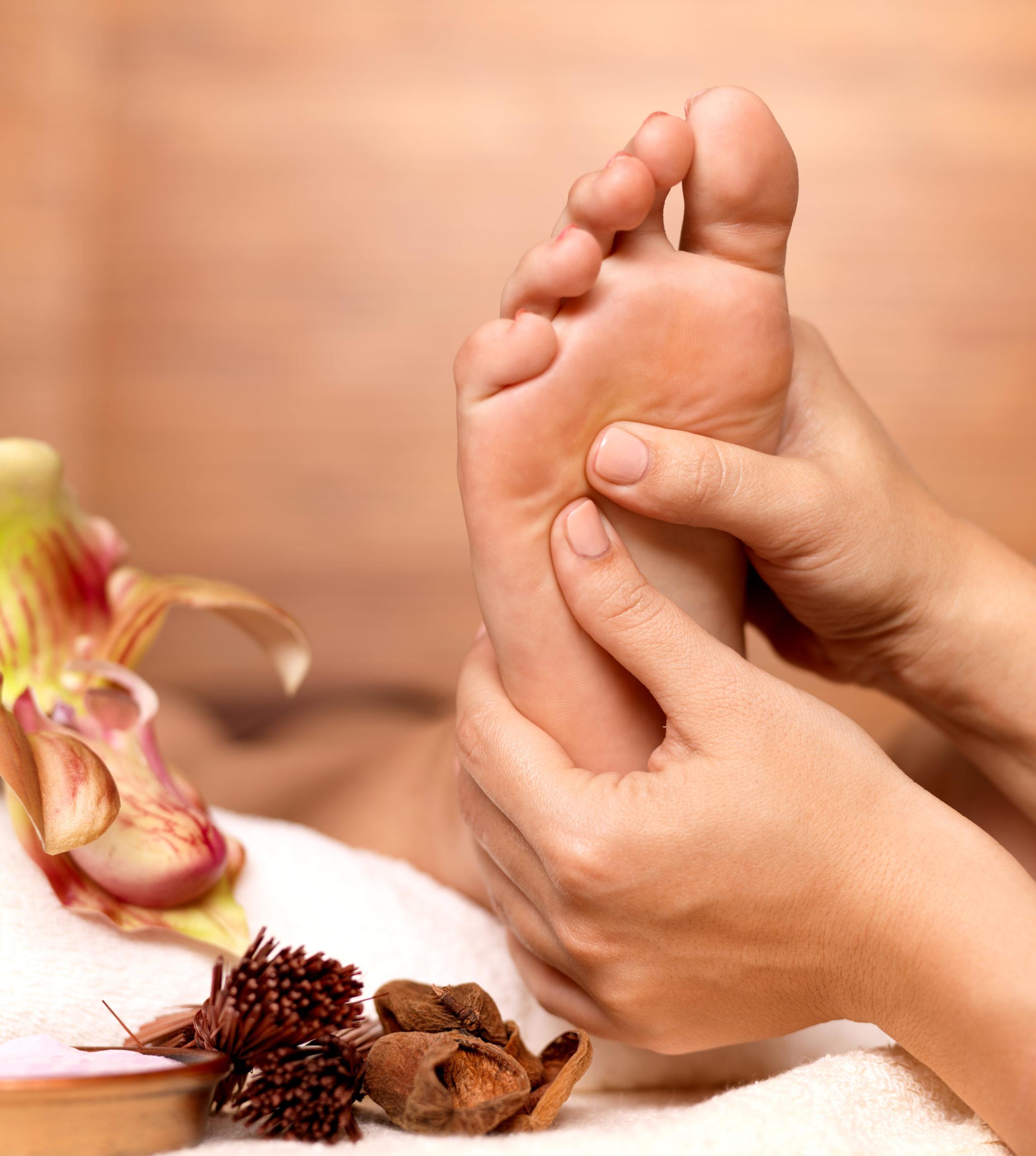 Massage des pieds – Réflexologie