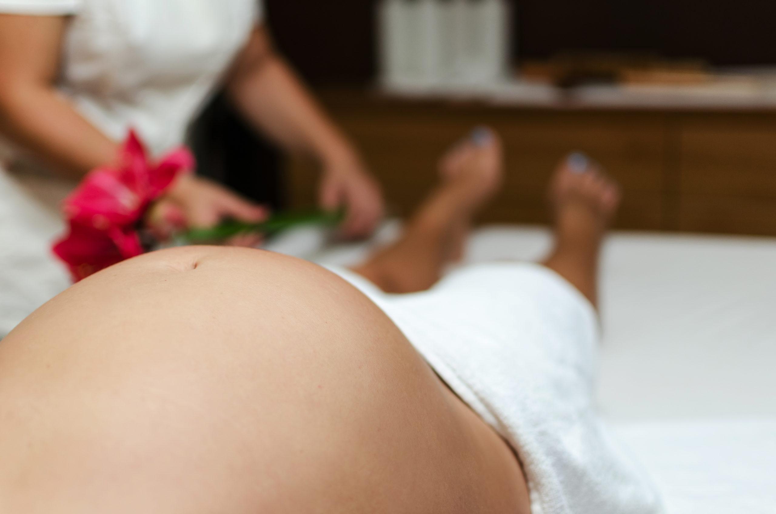 Massage pour la femme enceinte